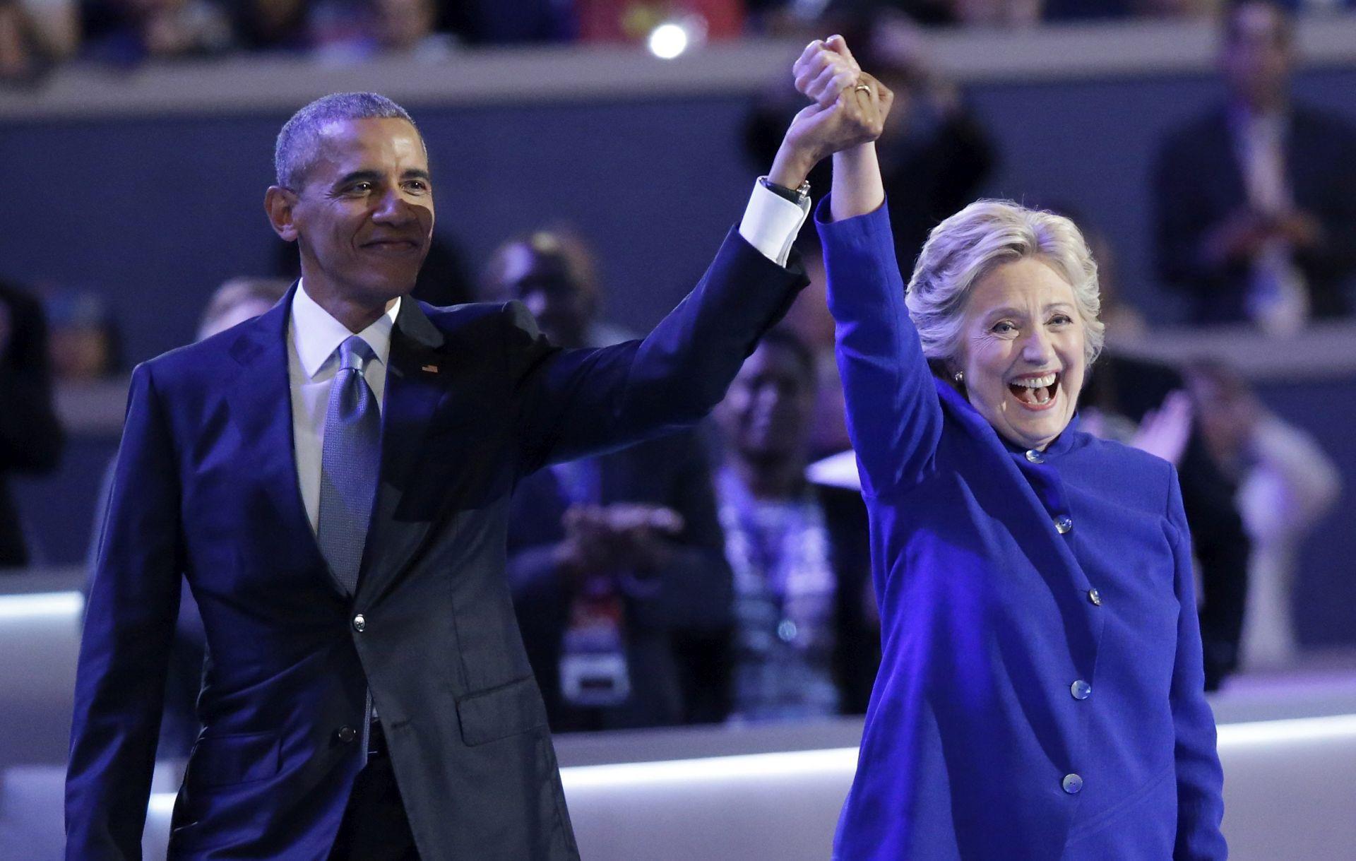 Obama pozvao Amerikance da podrže Hillary Clinton
