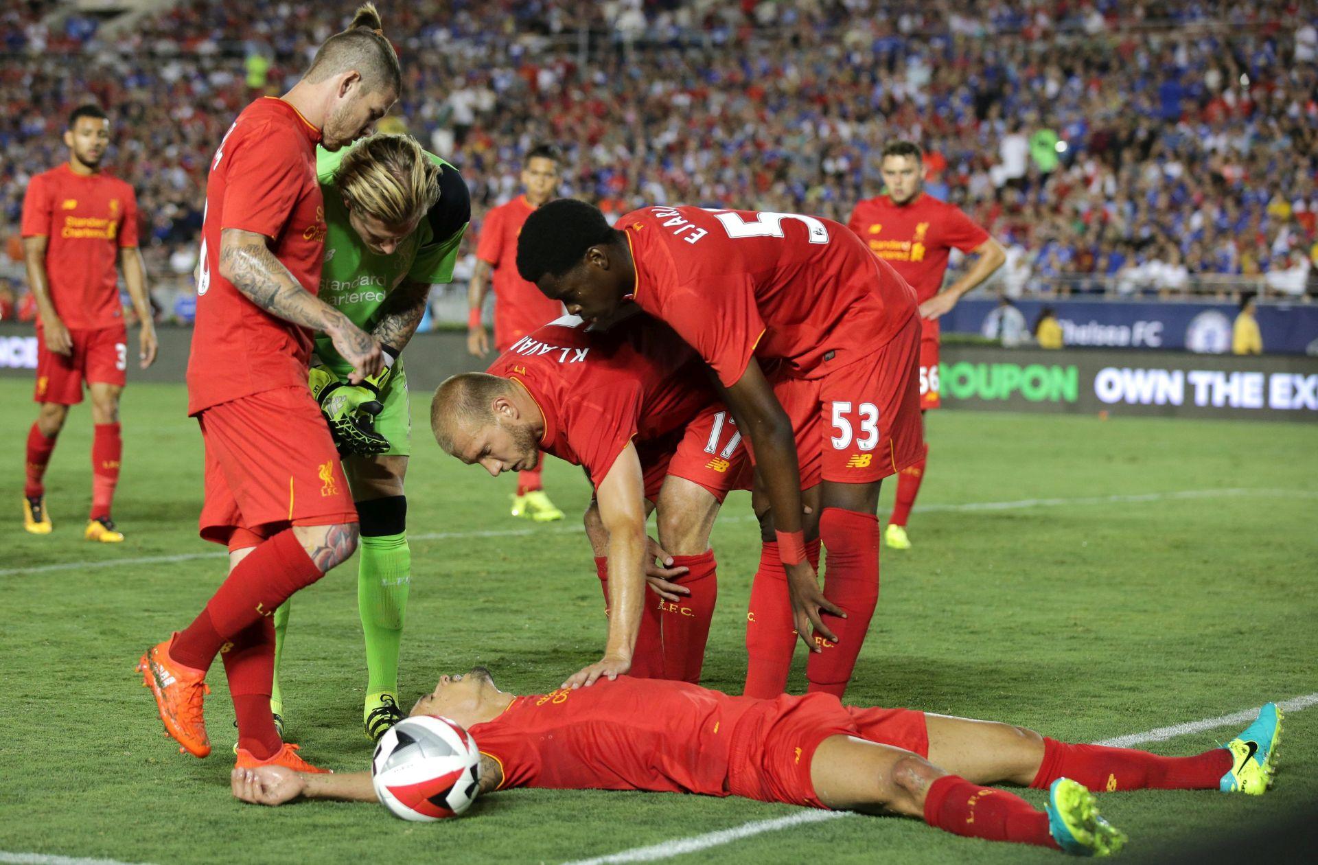 VIDEO: Lovrenova glava slomila ruku Liverpoolovom vrataru