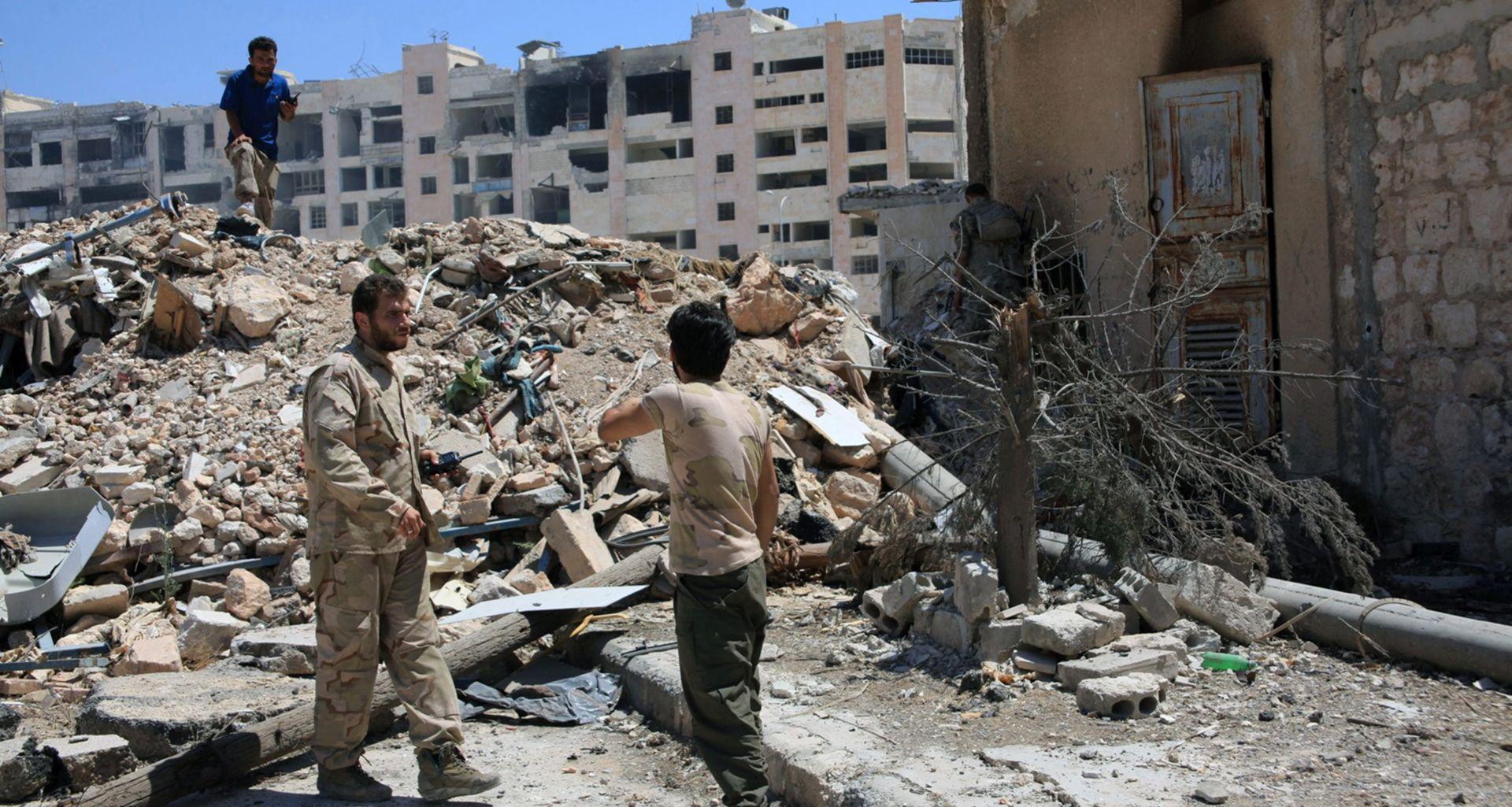 SIRIJA Pobunjenička koalicija zauzela dio baze u Aleppu