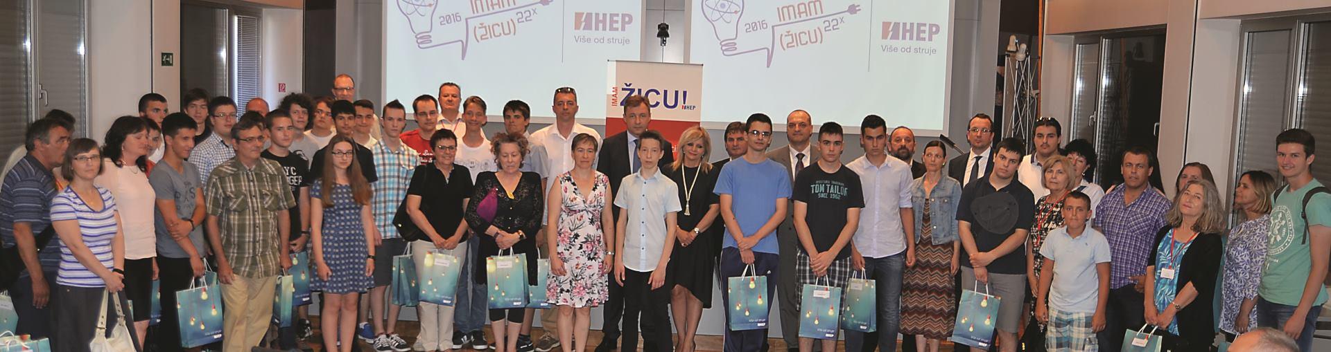 Održana svečanost 22. dodjele HEP-ove Nagrade učenicima IMAM ŽICU!