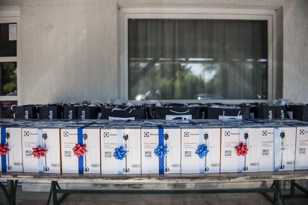 Electrolux pokloni za udomiteljske obitelji