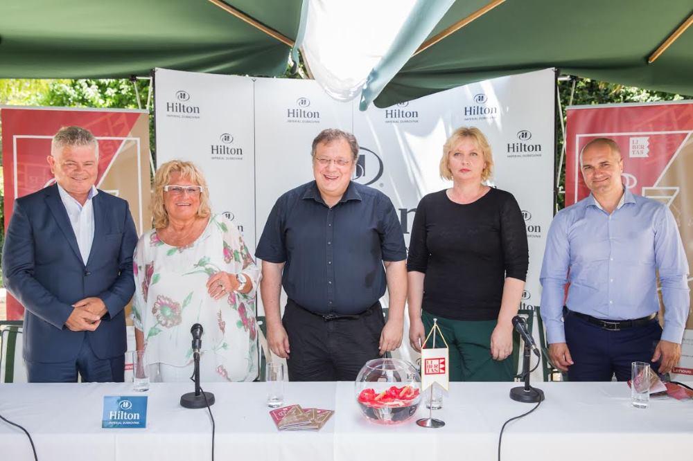 Program 67. Dubrovačkih ljetnih igara najavili su Mladen Tarbuk, Mani Gotovac, Paulina Njirić Andro Vlahušić i Davorko Obuljen