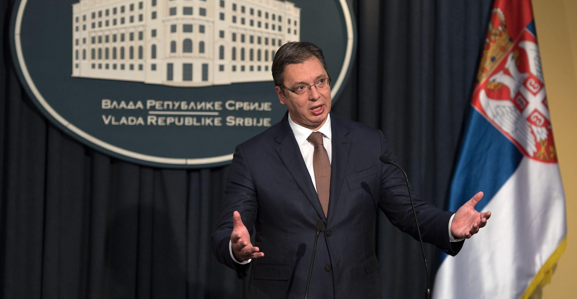 Vučić kaže da će u Parizu odgovoriti Zagrebu na neistine oko blokade Srbije