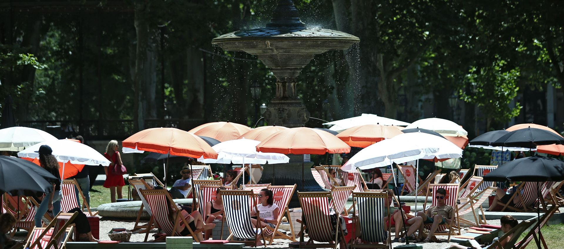 PRETEŽNO SUNČANO I VRUĆE Temperature idu do 33°C, mogući pljuskovi u gorju i Istri