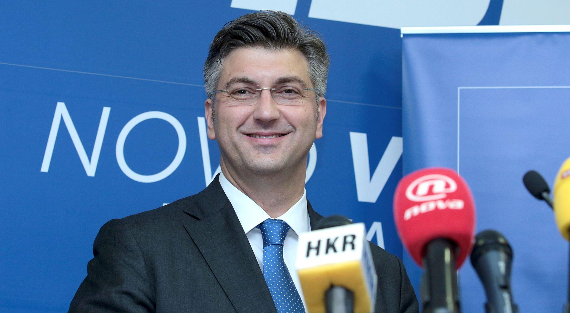 ANDREJ PLENKOVIĆ 'Dobio sam izvješće od financijskom poslovanju HDZ-a, nisam ga stigao proučiti'