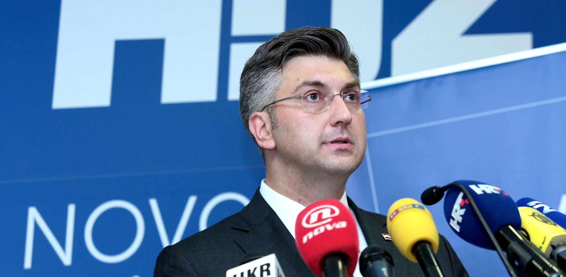 """PLENKOVIĆ """"Ne pristajem na nikakve ucjene iz Mosta, premijer će doći iz redova HDZ-a"""""""