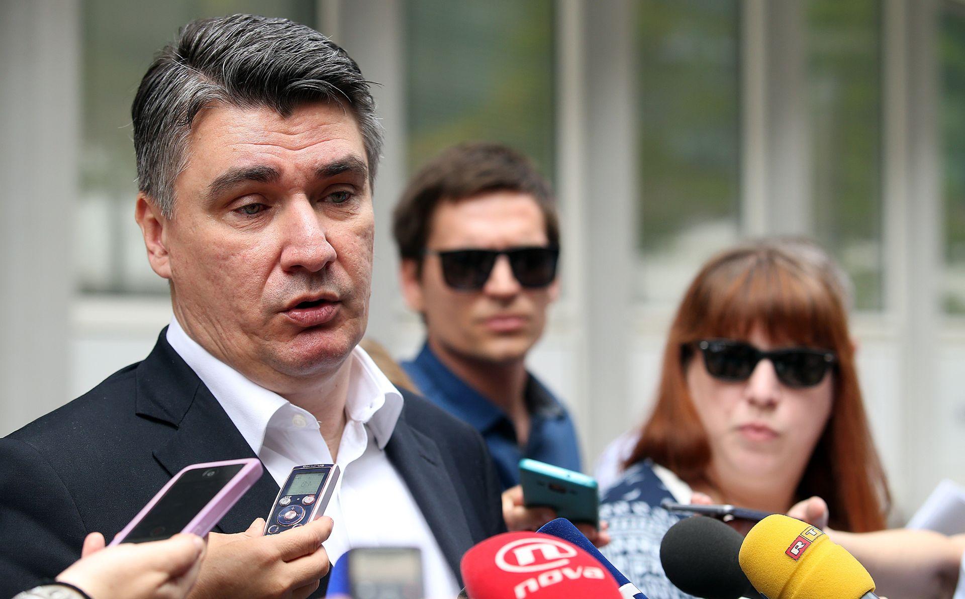 ZORAN MILANOVIĆ 'Spreman sam za sučeljavanje s Plenkovićem, konačno je netko pristao na debatu'