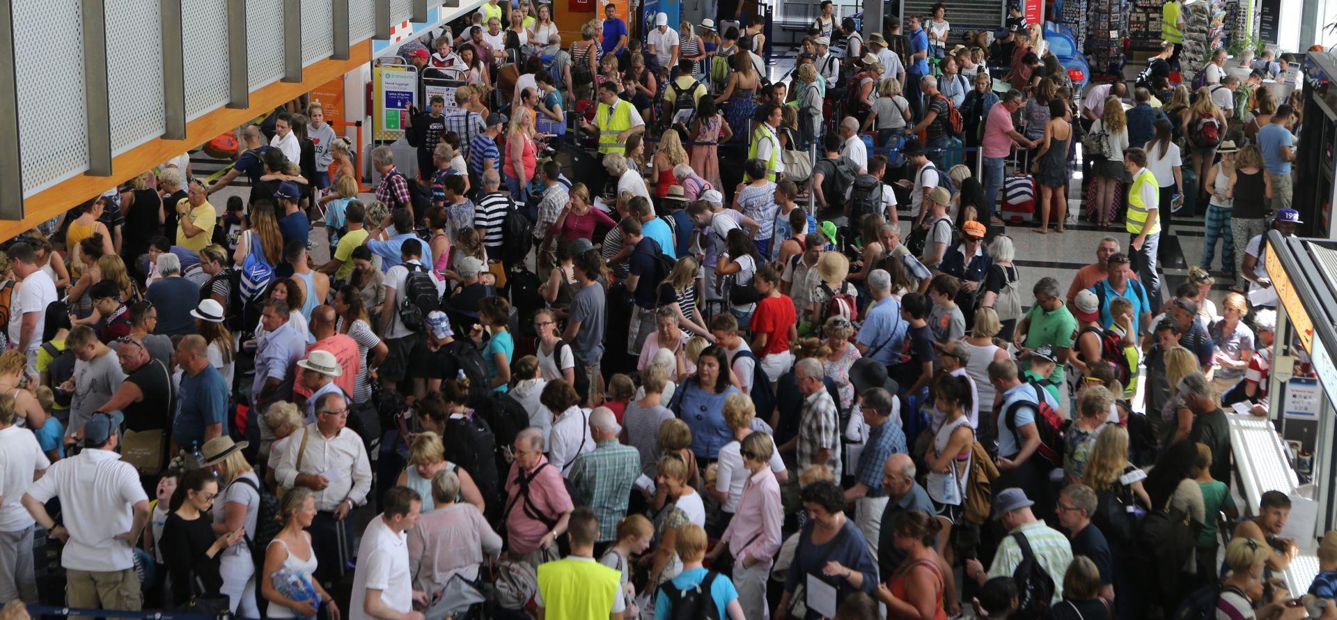 Vikend u splitskoj Zračnoj luci: Rekordnih 40.000 putnika!