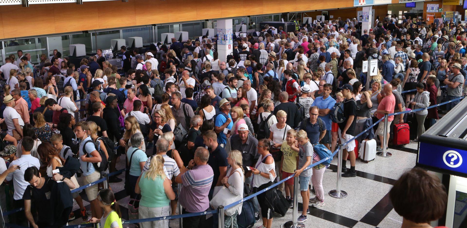 U splitskoj zračnoj luci ovaj vikend rekordnih 46 tisuća putnika