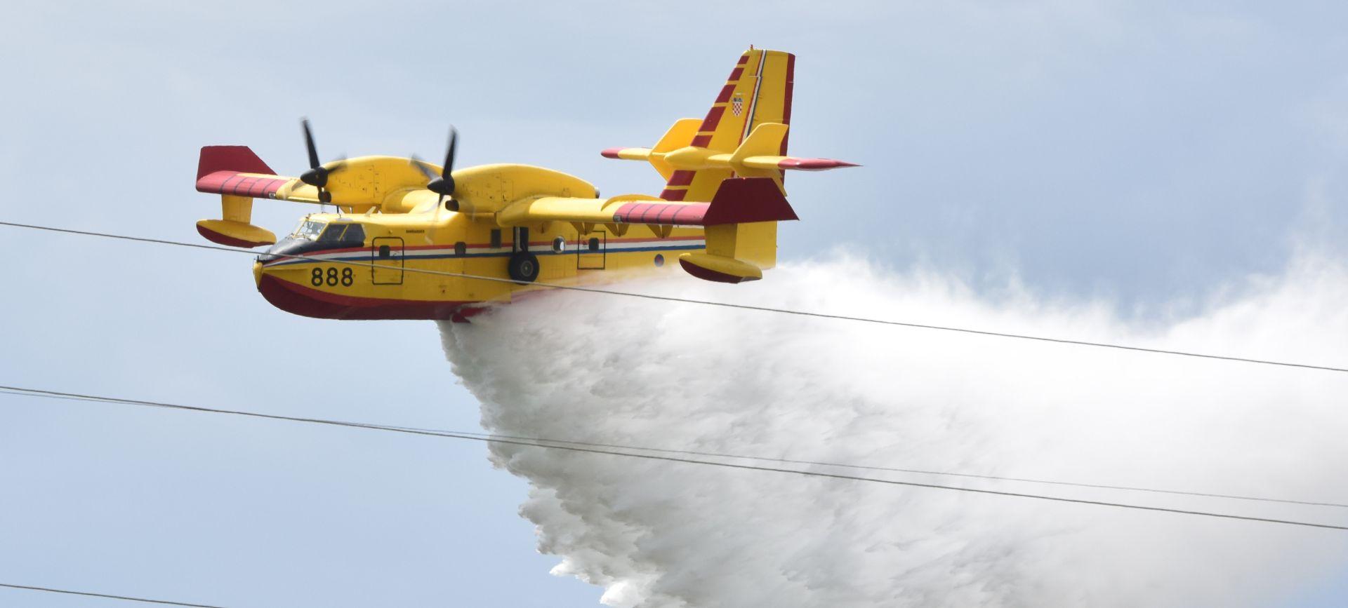 U požaru na otoku Olipi dosad izgorjelo najmanje 20 hektara borove šume