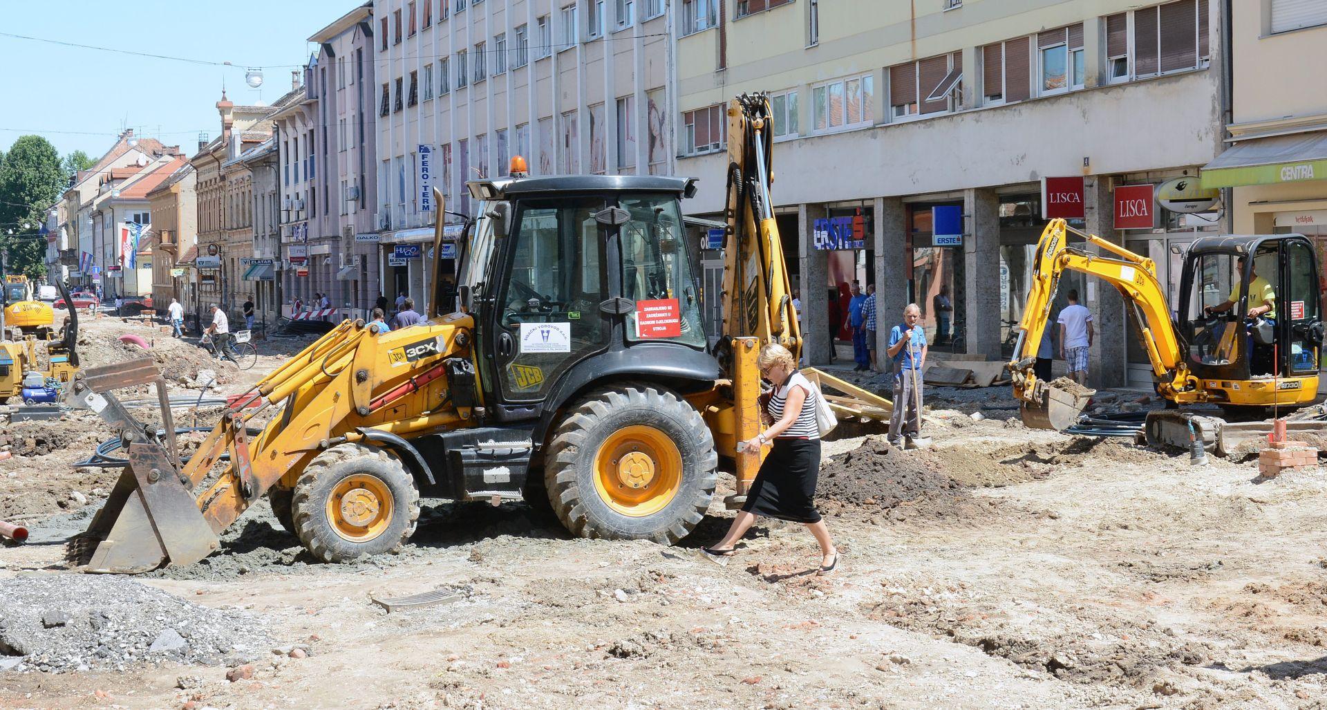 DZS: Građevinski radovi u svibnju porasli 3,3 posto na godišnjoj razini