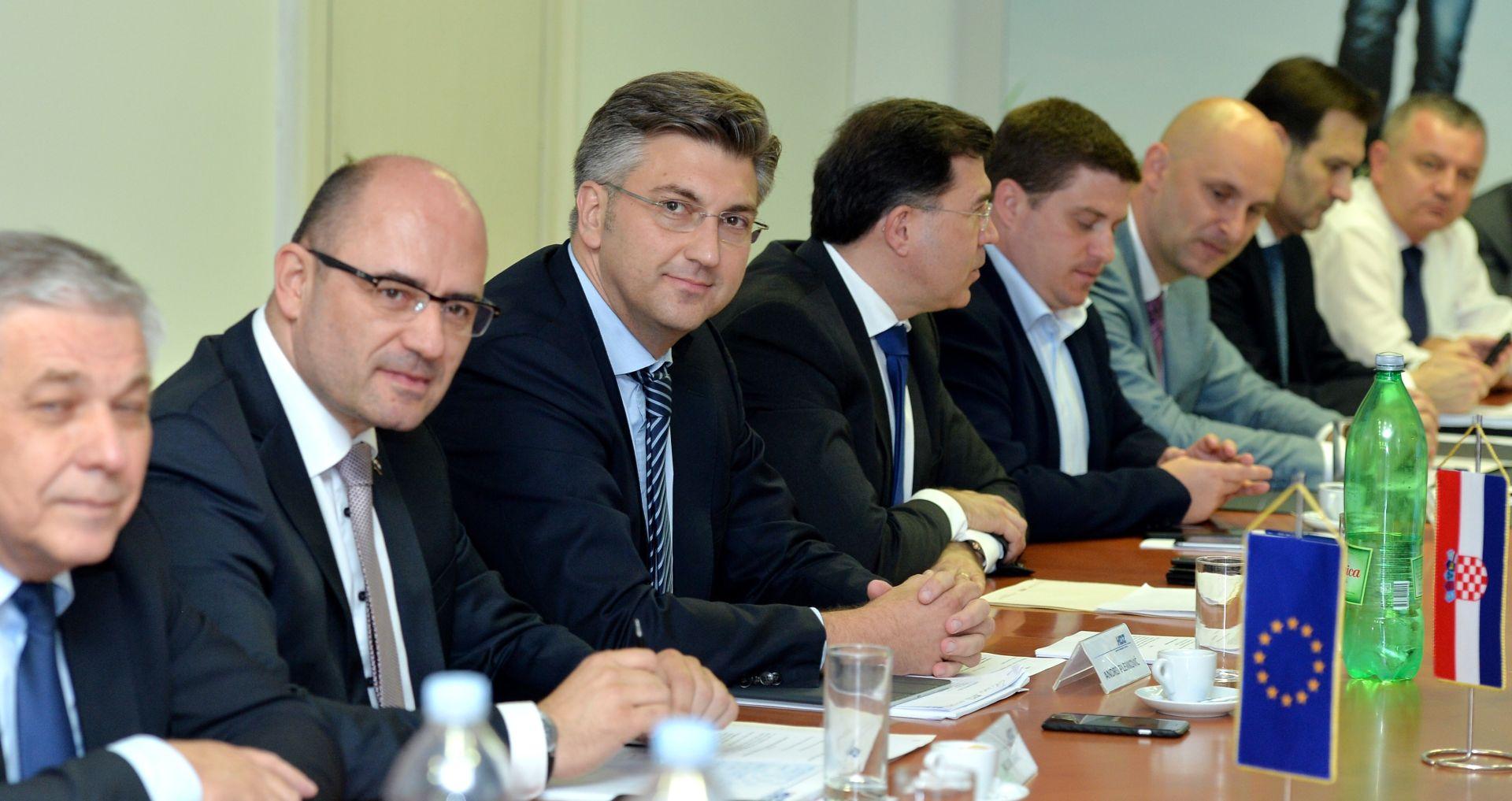 Plenković: Na HDZ-ovim listana bit će dosljedne i dokazane osobe