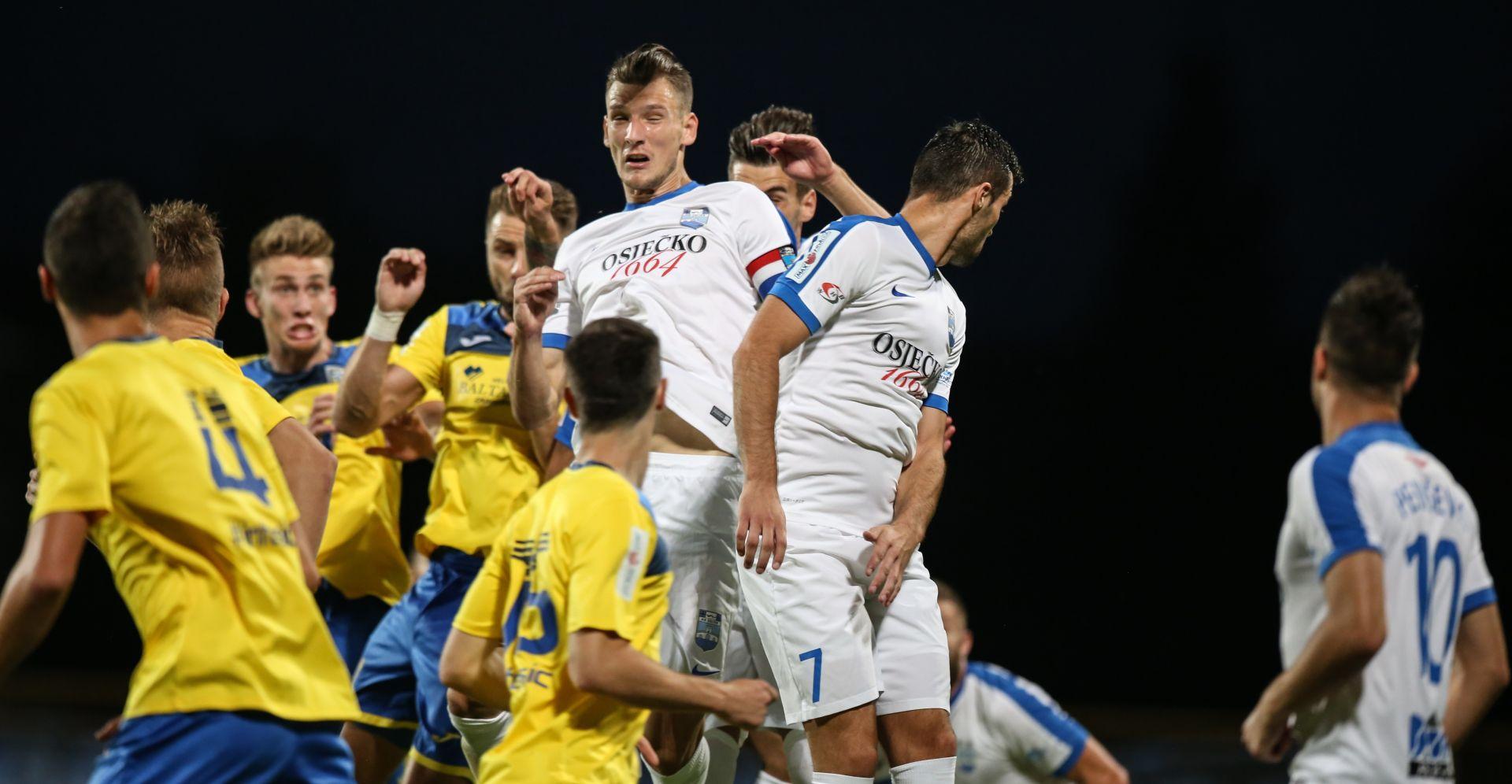 HNL Osijek pobjedom nad Interom do trećeg mjesta na ljestvici