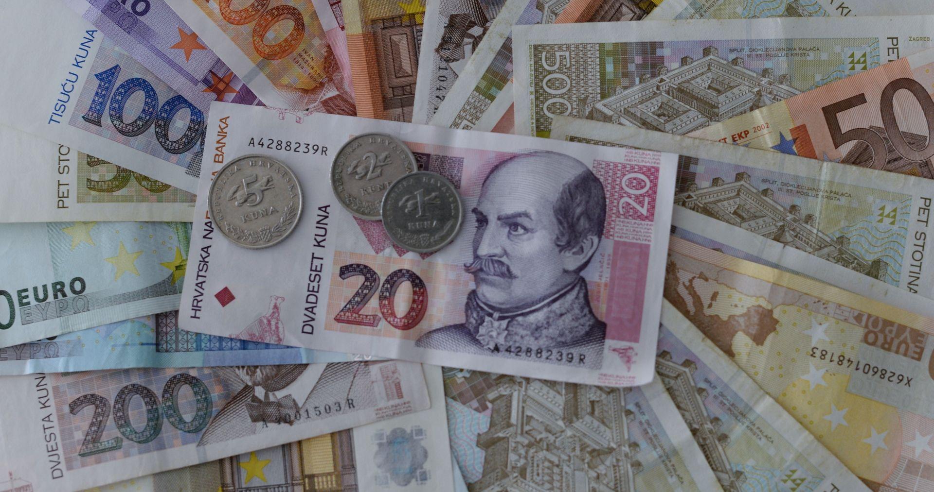 U prvom tromjesečju deficit na tekućem računu platne bilance 1,6 milijardi eura