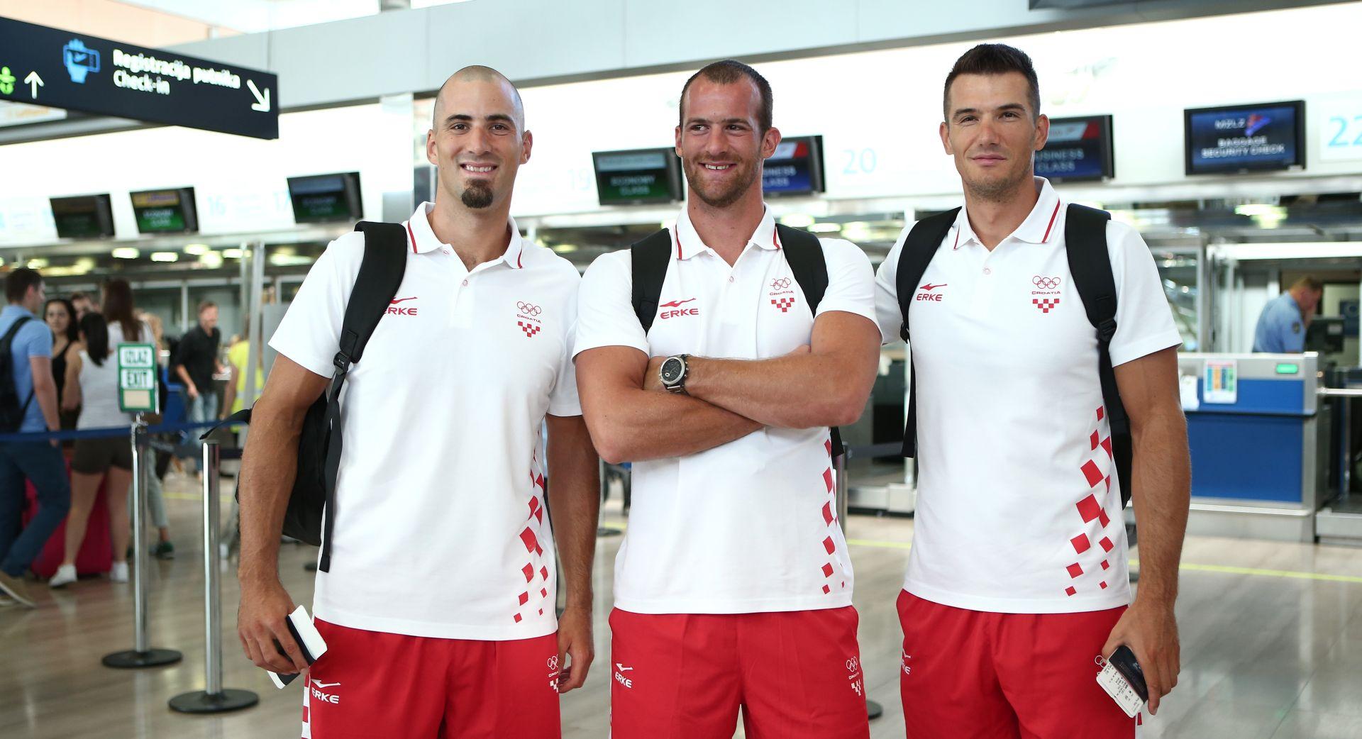 SRETNO! Braća Sinković i Martin krenula prema Riju