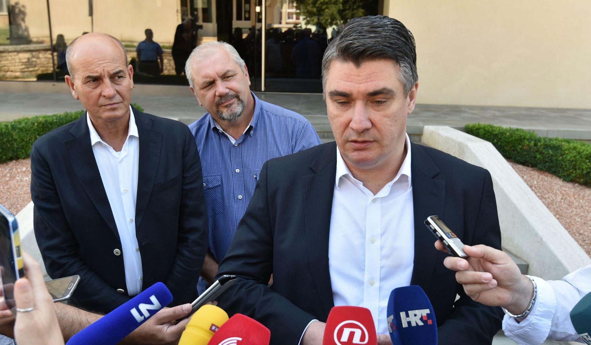 """MILANOVIĆ U ZADRU """"Ovo je najurena vlada, ne tehnička. HDZ je u inozemstvu manji od makovog zrna"""""""