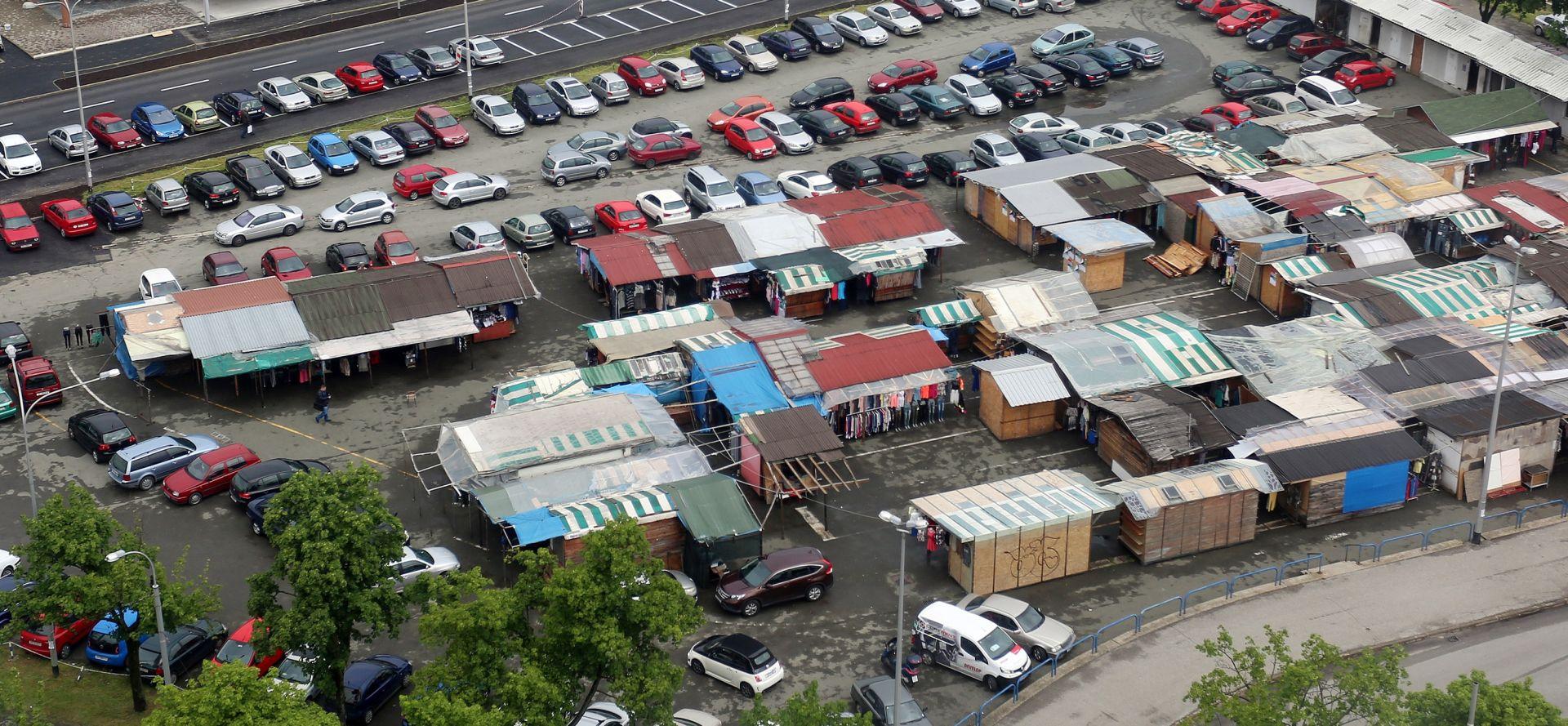 ZAGREB Borongajska tržnica seli na terminal Dubec
