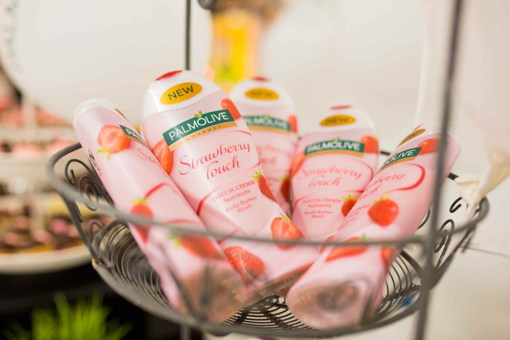 Palmolive Gourmet Strawberry Touch s aromom kremaste jagode