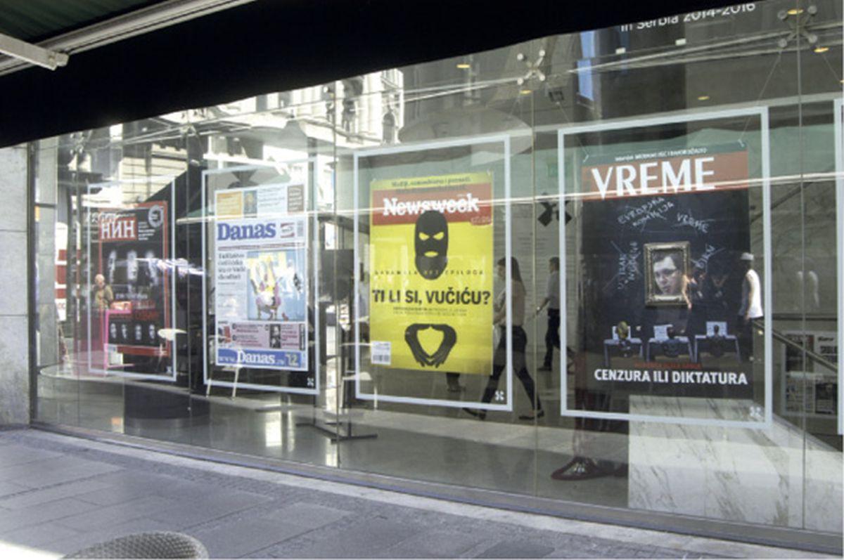Beogradska izložba o 'neprijateljskoj propagandi' protiv Aleksandra Vučića