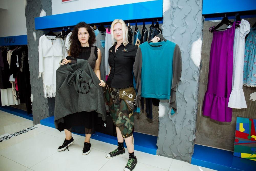 Maja Cipek i Mirela Noršić s modnim kreacijama njihovog branda Radiona