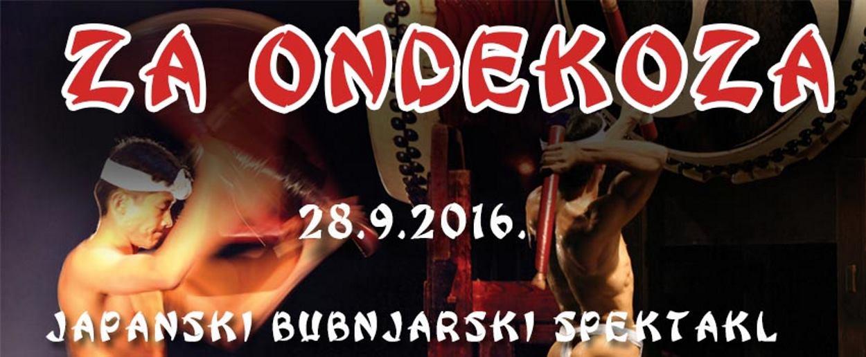VIDEO: Japanska bubnjarska atrakcija 'Za Ondekoza' ponovo u Lisinskom!