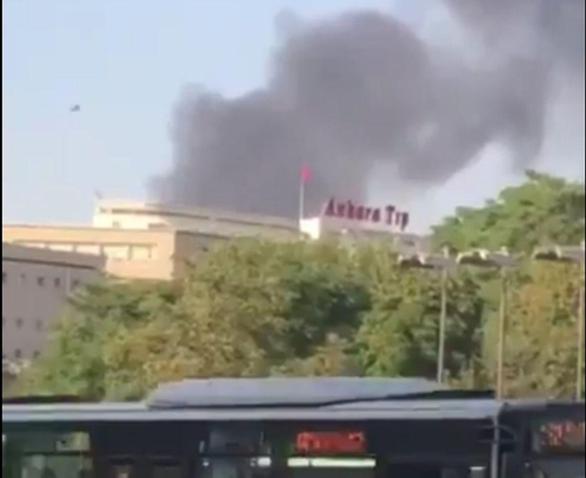 GORI U ANKARI Veliki požar zahvatio stambenu zgradu u turskoj metropoli