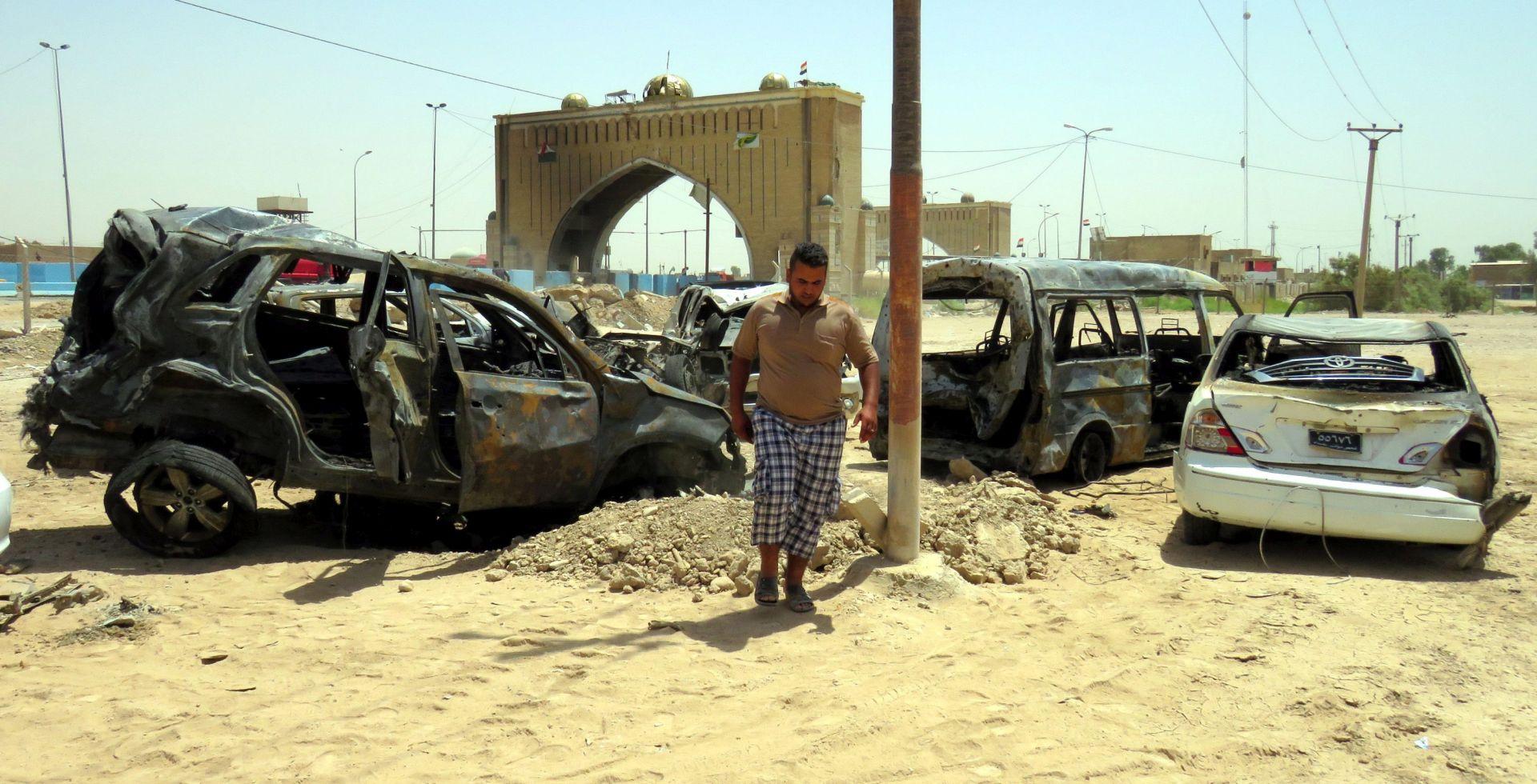 BOMBAŠKI NAPAD: U Bagdadu desetero poginulih, više od 27 ozlijeđenih