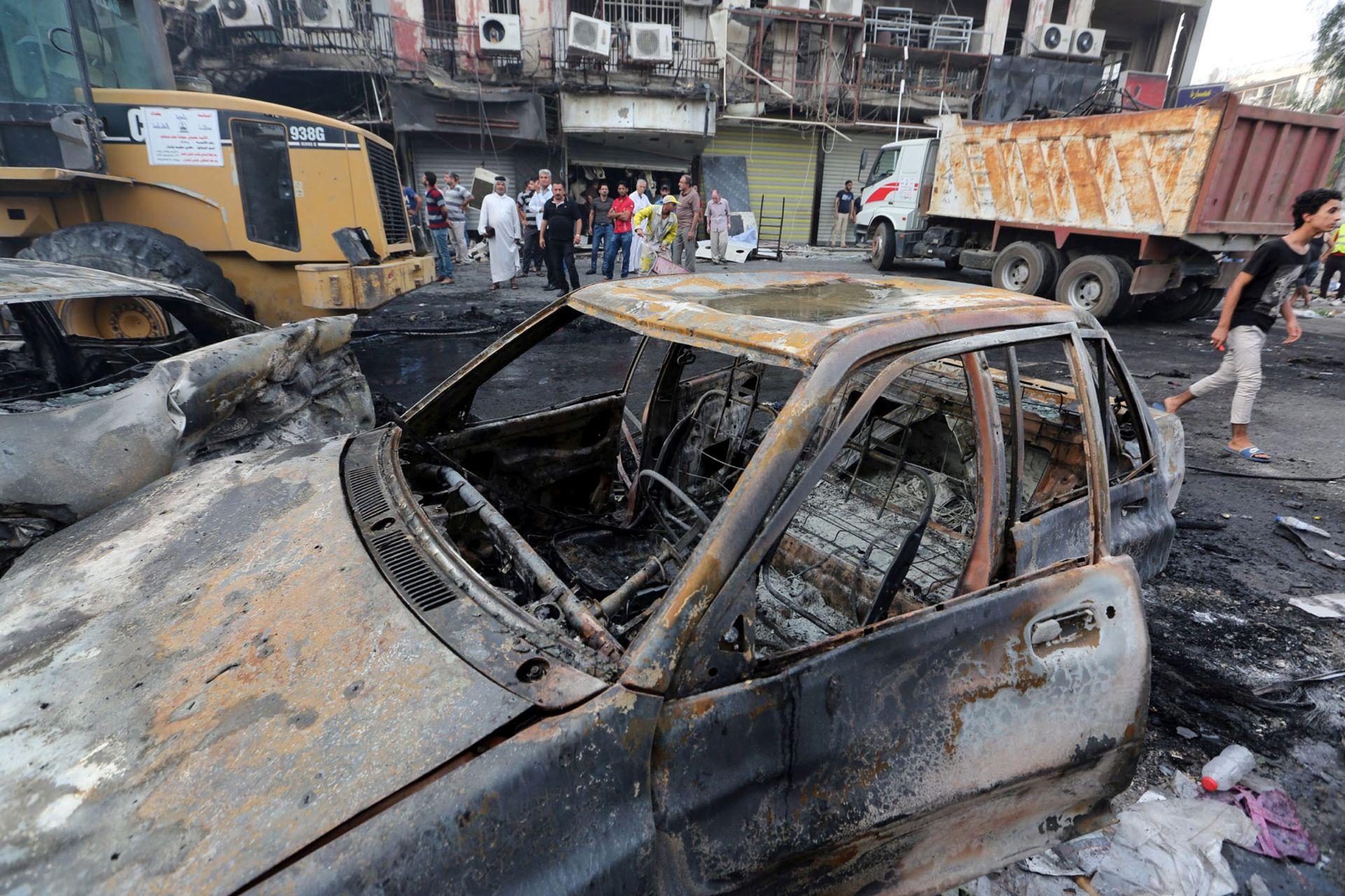 SAMOUBILAČKI NAPAD: Najmanje 12 mrtvih u Bagdadu