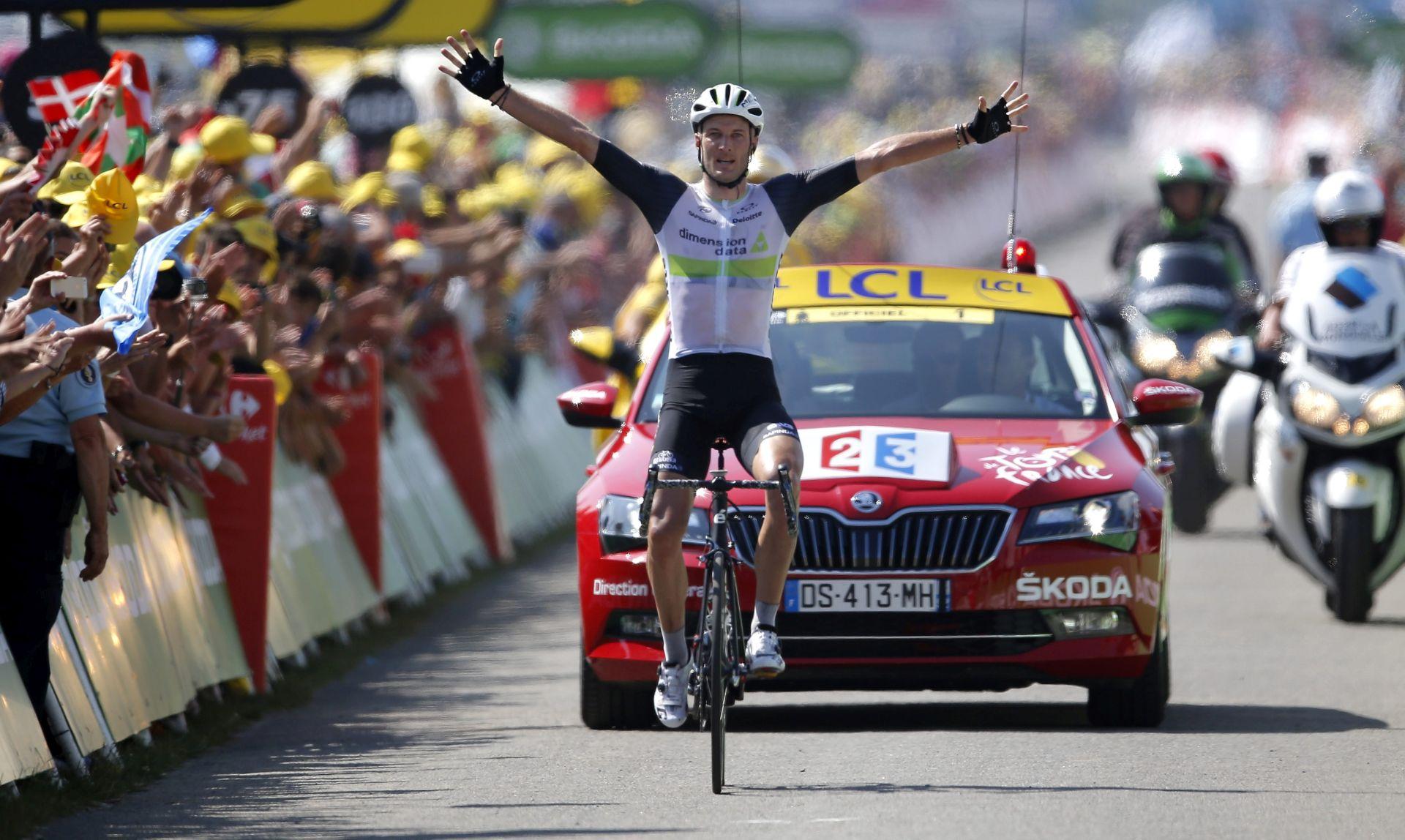 TOUR DE FRANCE: Stephen Cummings osvojio sedmu etapu