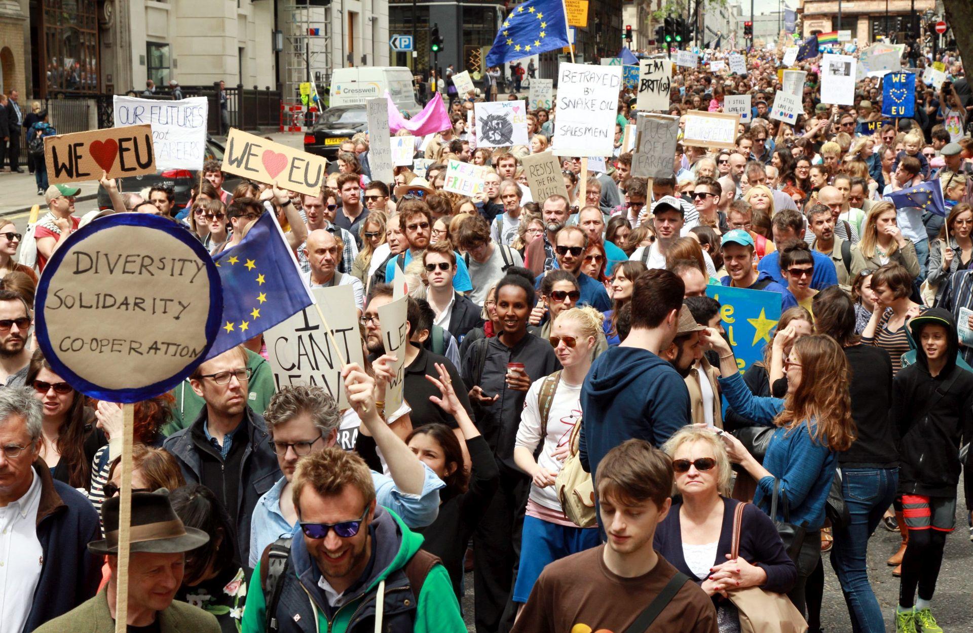 ISTRAŽIVANJE: Većina Britanaca protiv drugog referenduma o izlasku iz EU