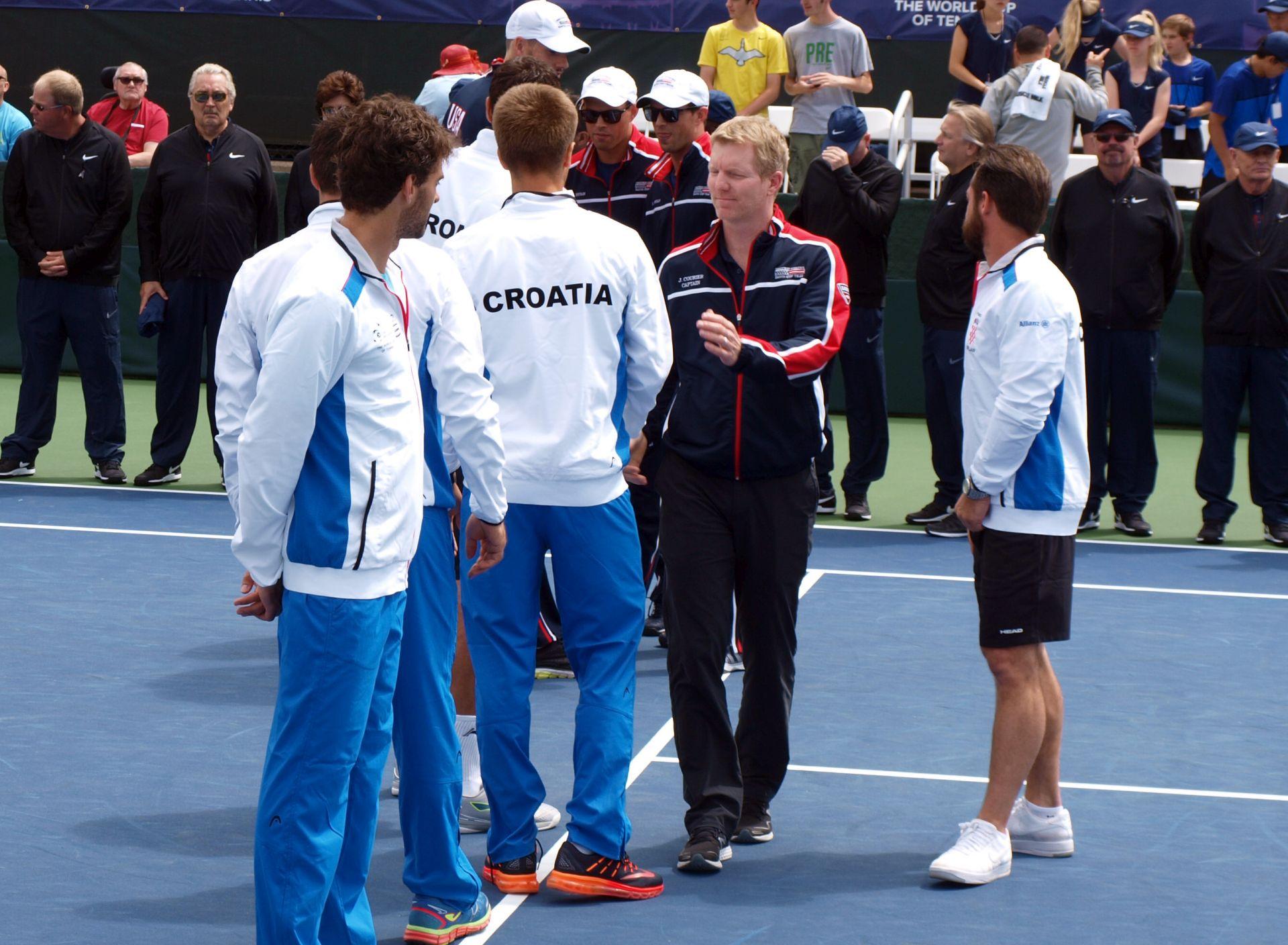 Davis Cup: Američka reprezentacija povela 2-0 protiv Hrvatske