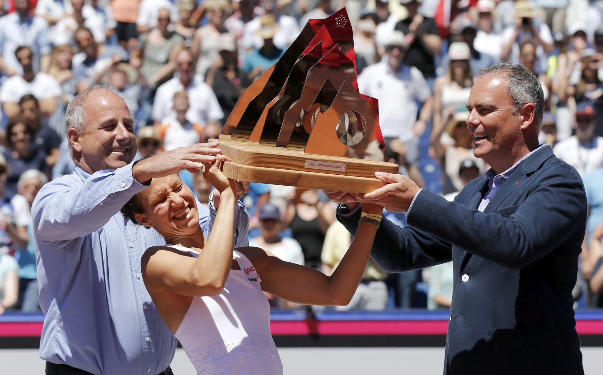 WTA Gstaad: Viktorija Golubić osvojila prvi naslov