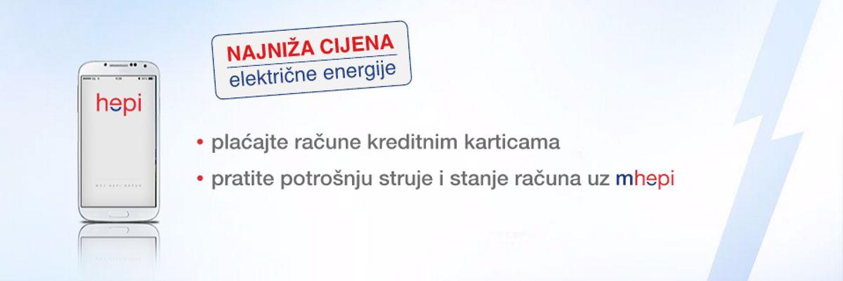 HEP OPSKRBA Ugovorite hepi i štedite uz najnižu cijenu električne energije!