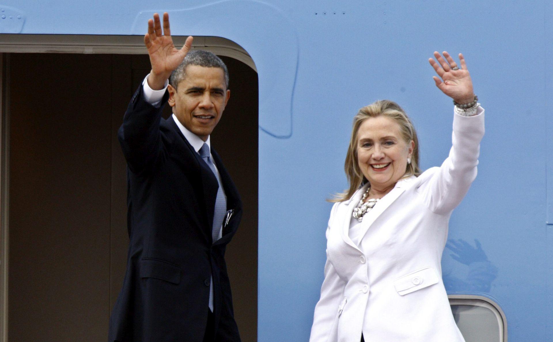 BIJELA KUĆA: Obama i Clinton zajedno putuju na skup podrške