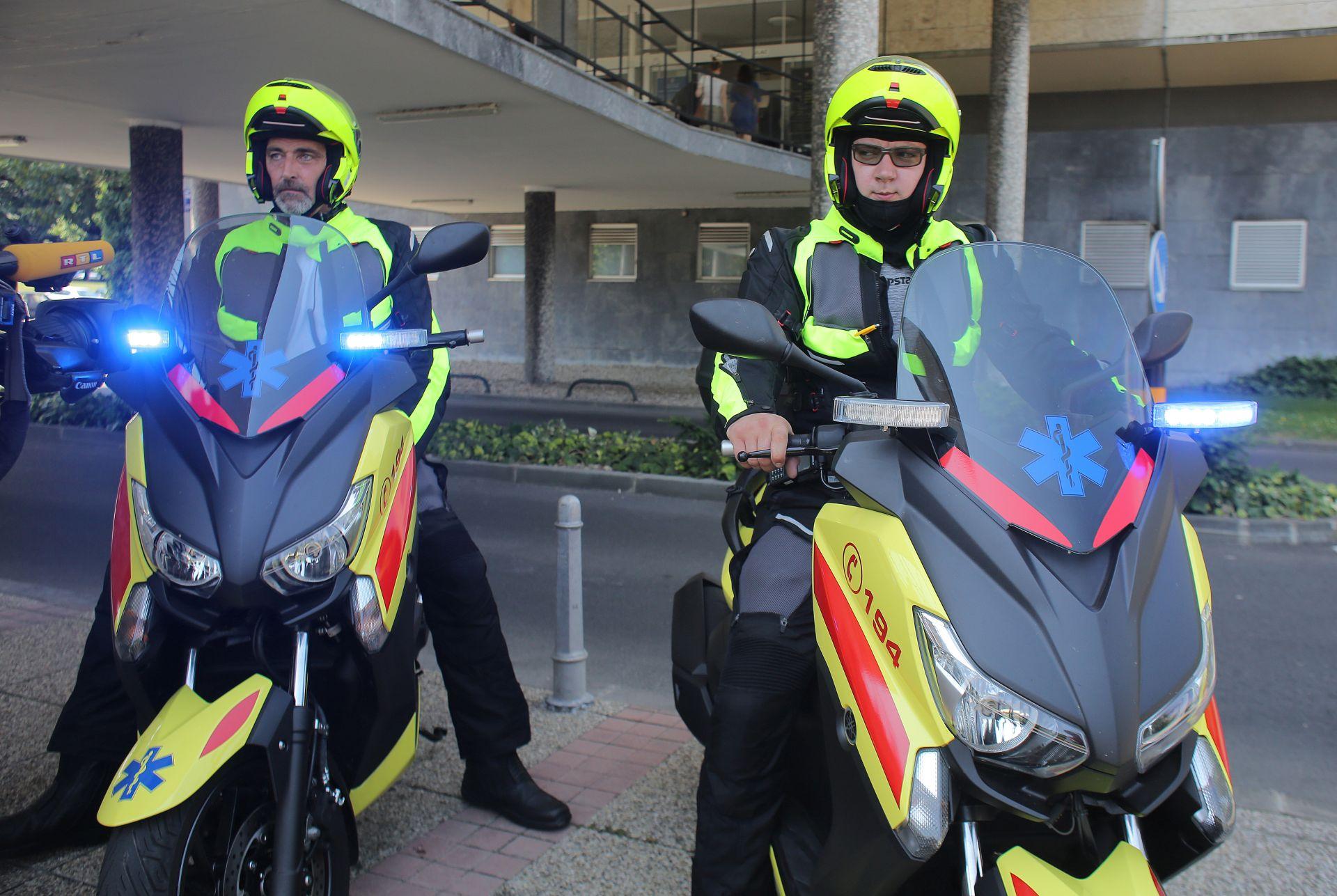 BRŽA INTERVENCIJA: Uveden tim Hitne medicinske pomoći na motociklu