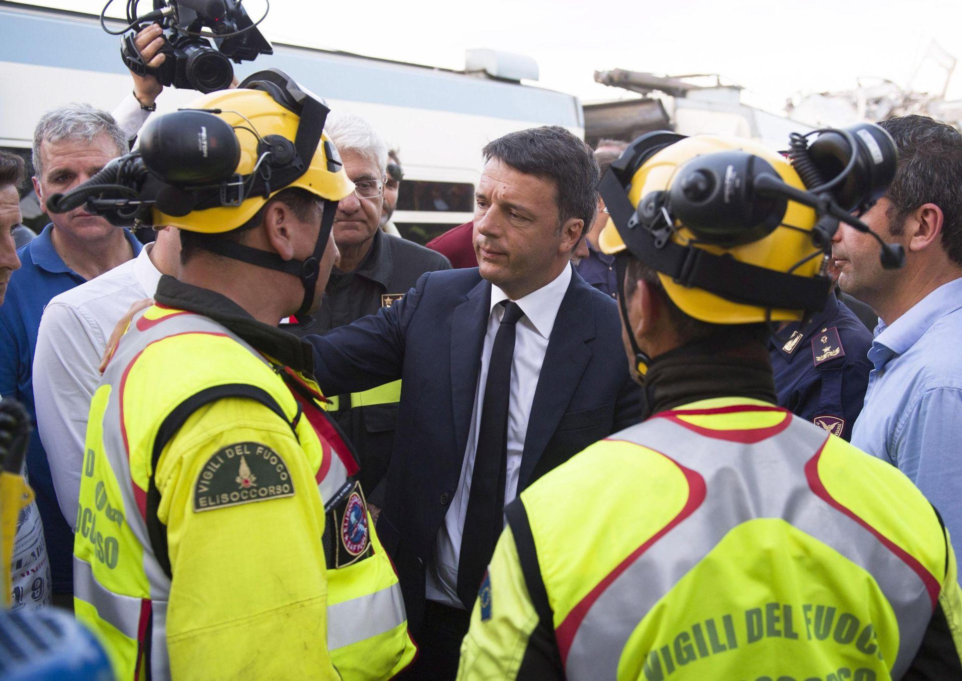 ŽELJEZNIČKA NESREĆA: Broj poginulih u sudaru vlakova u Italiji najmanje 22