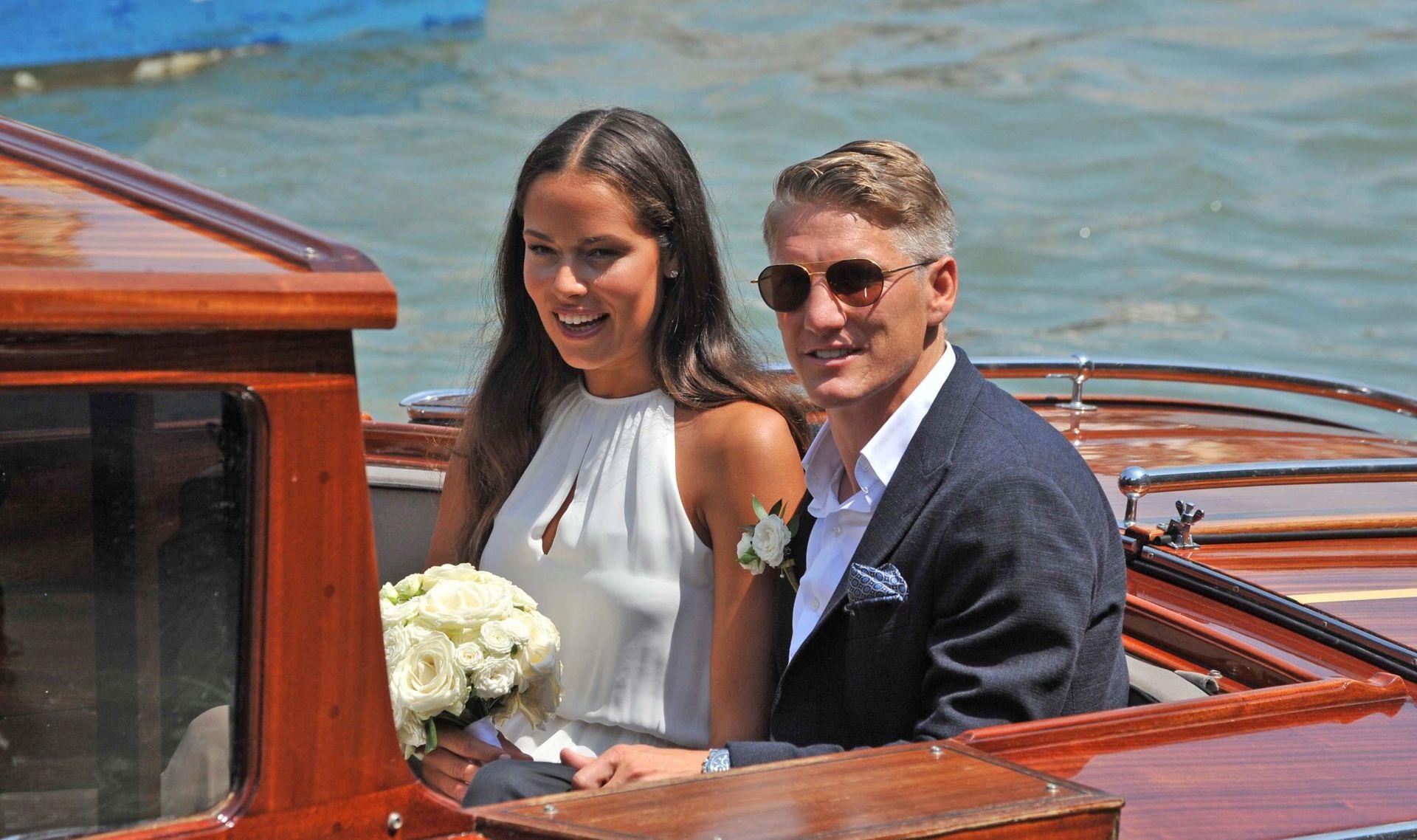 Vjenčali se Schweinsteiger i Ana Ivanović