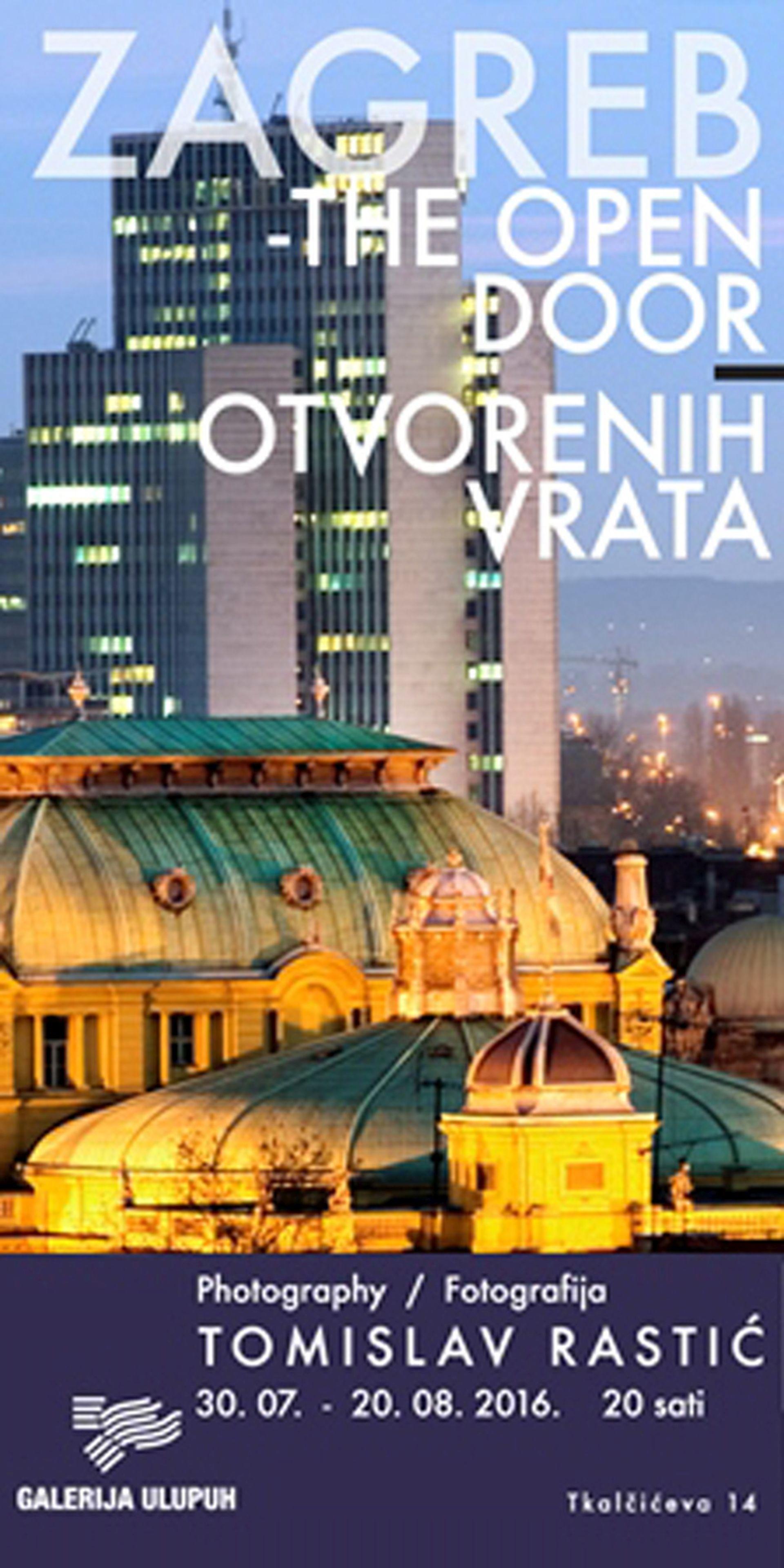 "Izložba fotografija ""Zagreb otvorenih vrata"""