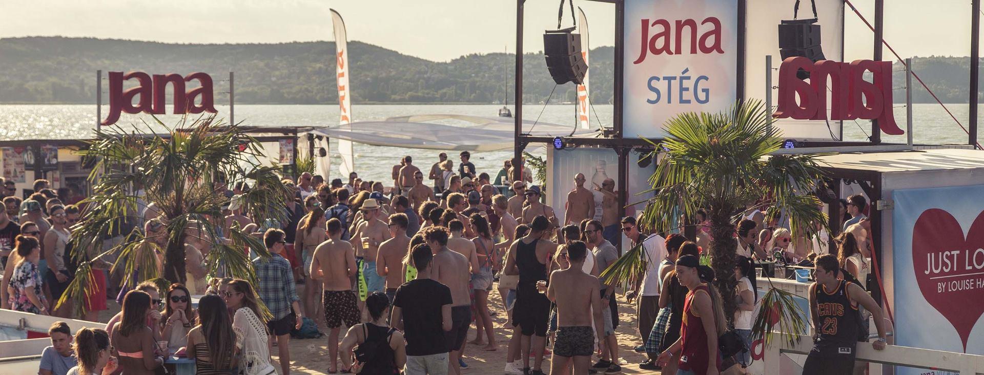 FOTO: VIDEO: JANA STAGE Središnje mjesto after-partyja u sklopu Balaton Sound Festivala