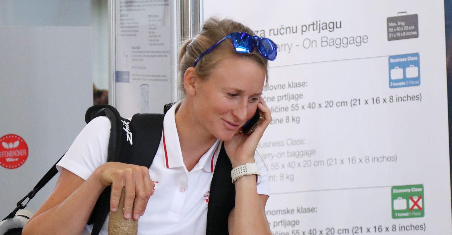 Prva hrvatska olimpijka otputovala u Rio de Janeiro