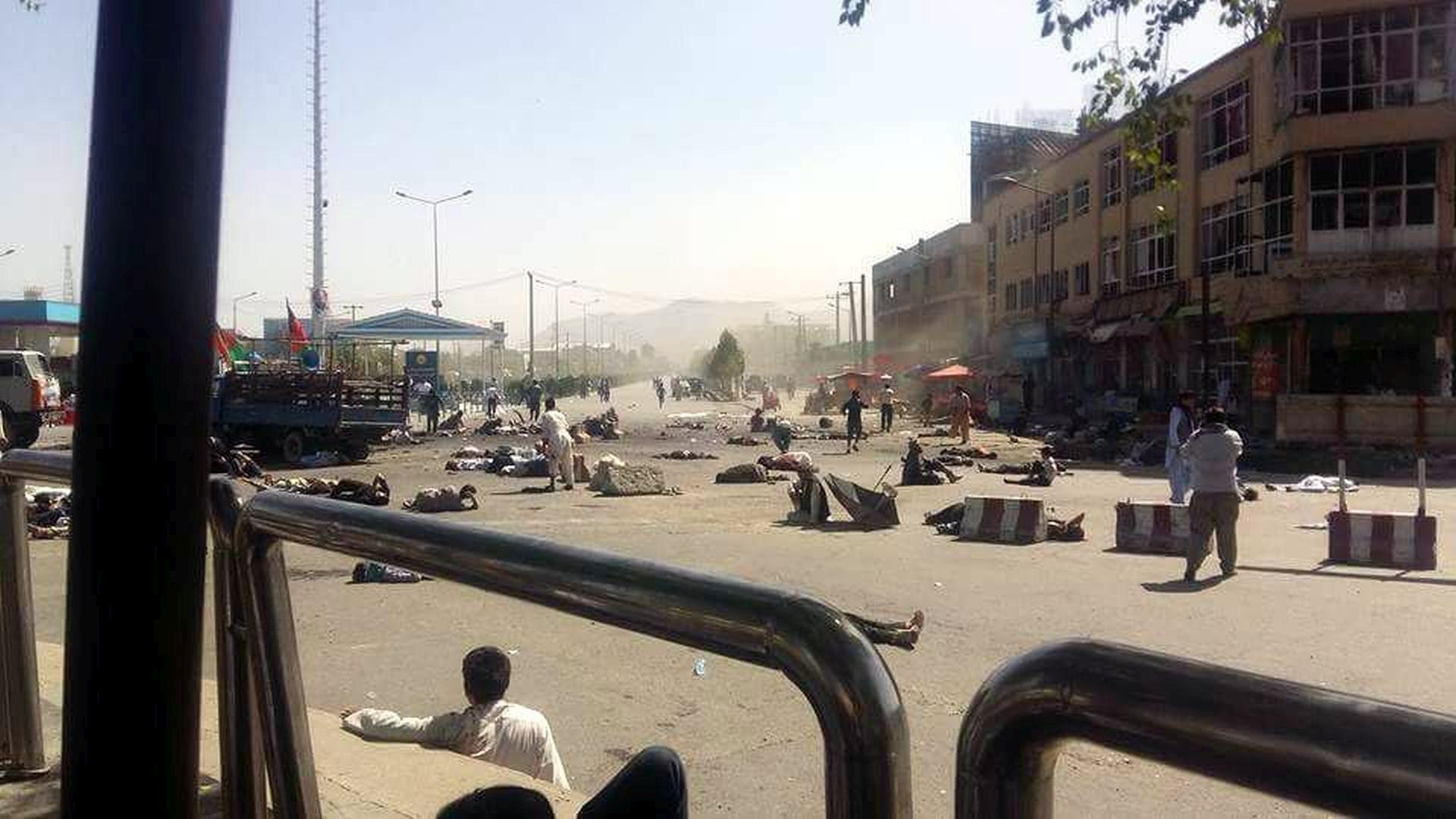 EKSPLOZIJA U KABULU: Poginulo najmanje deset osoba, deseci ozlijeđenih