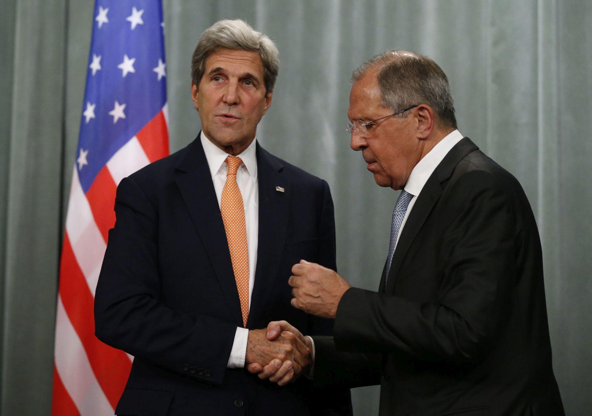 Kerry i Lavrov razgovarali o Ukrajini i Alepu