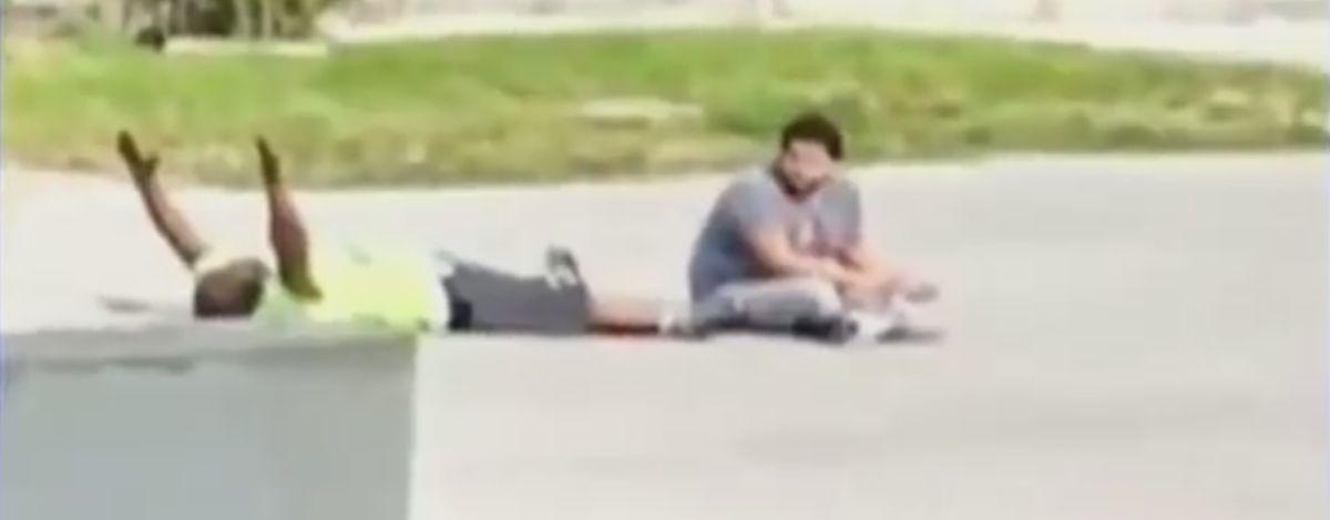 VIDEO: NOVA POLICIJSKA PUCNJAVA Nenaoružan ležao podignutih ruku, policajac ga upucao u nogu