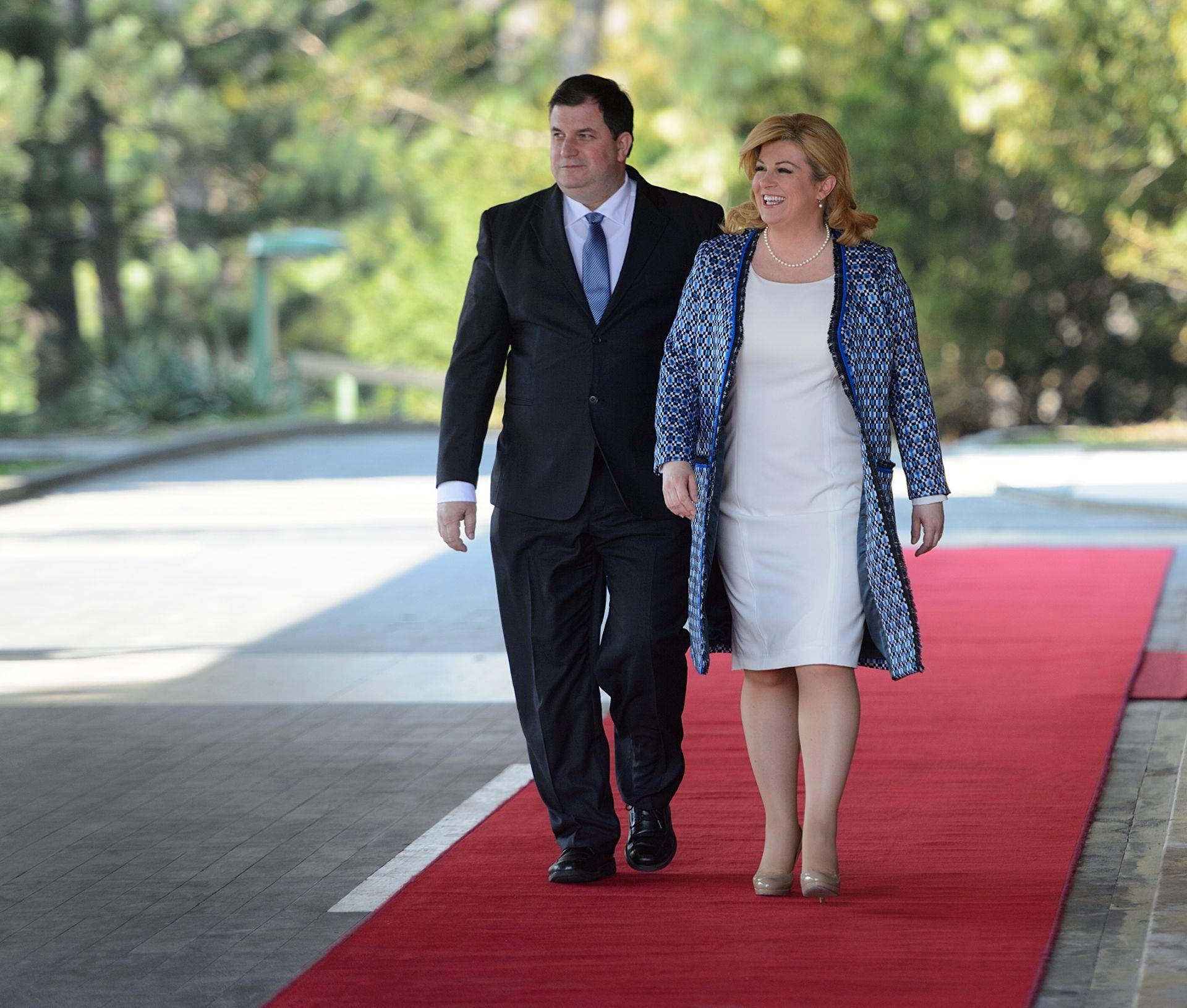 TROŠKOVE ĆE OSOBNO PODMIRITI: Predsjednica od 25. srpnja do 2. kolovoza na Brijunima