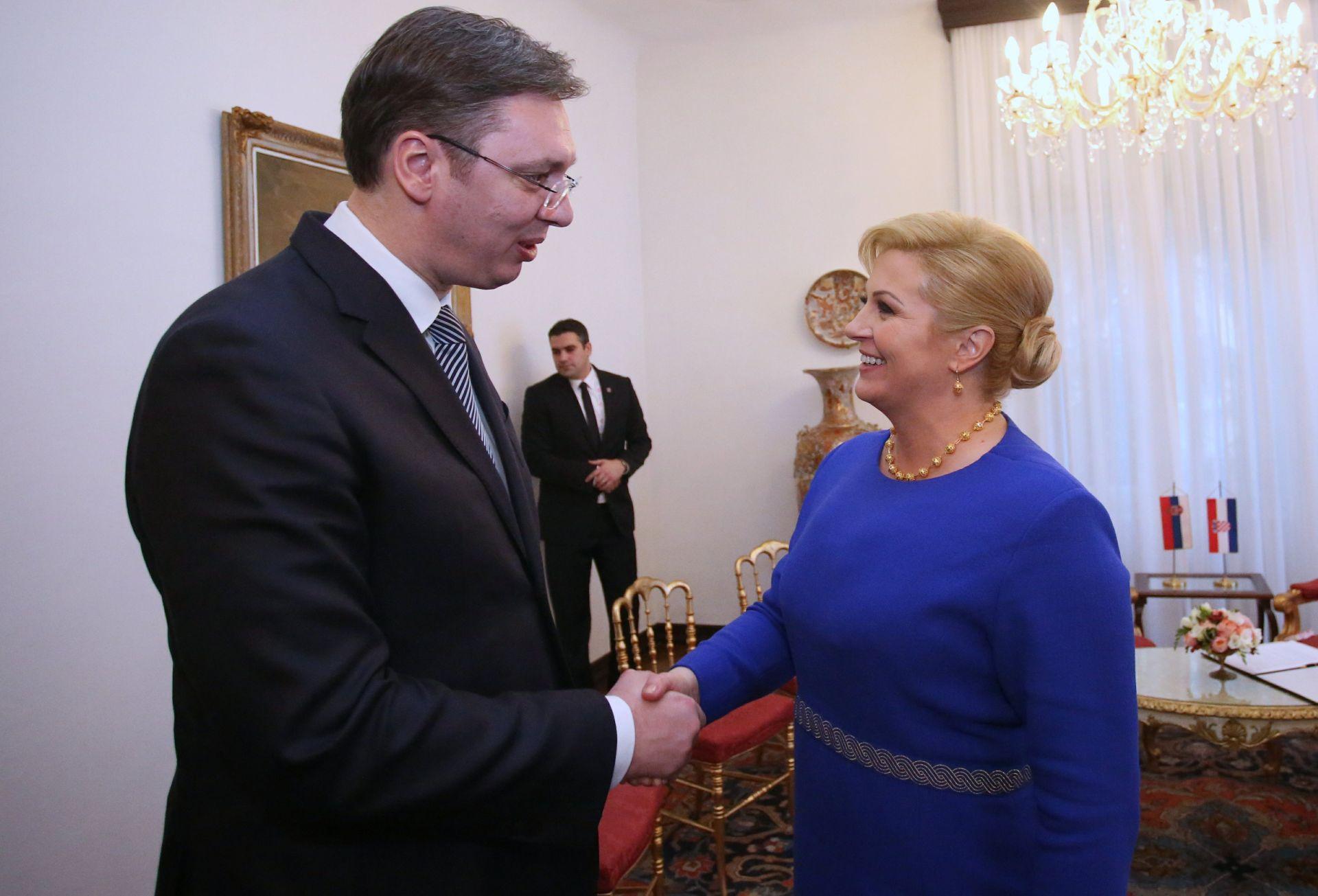 Vučić će se odazvati pozivu da posjeti Hrvatsku