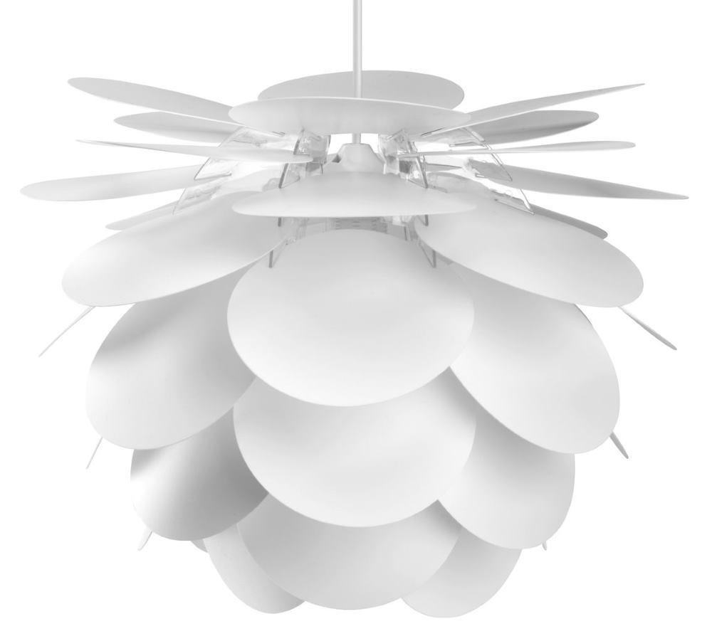 Luster VILIUS Ø41xV31cm bijela