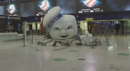 VIDEO: London Waterloo station potpuno u znaku filma Ghostbusters