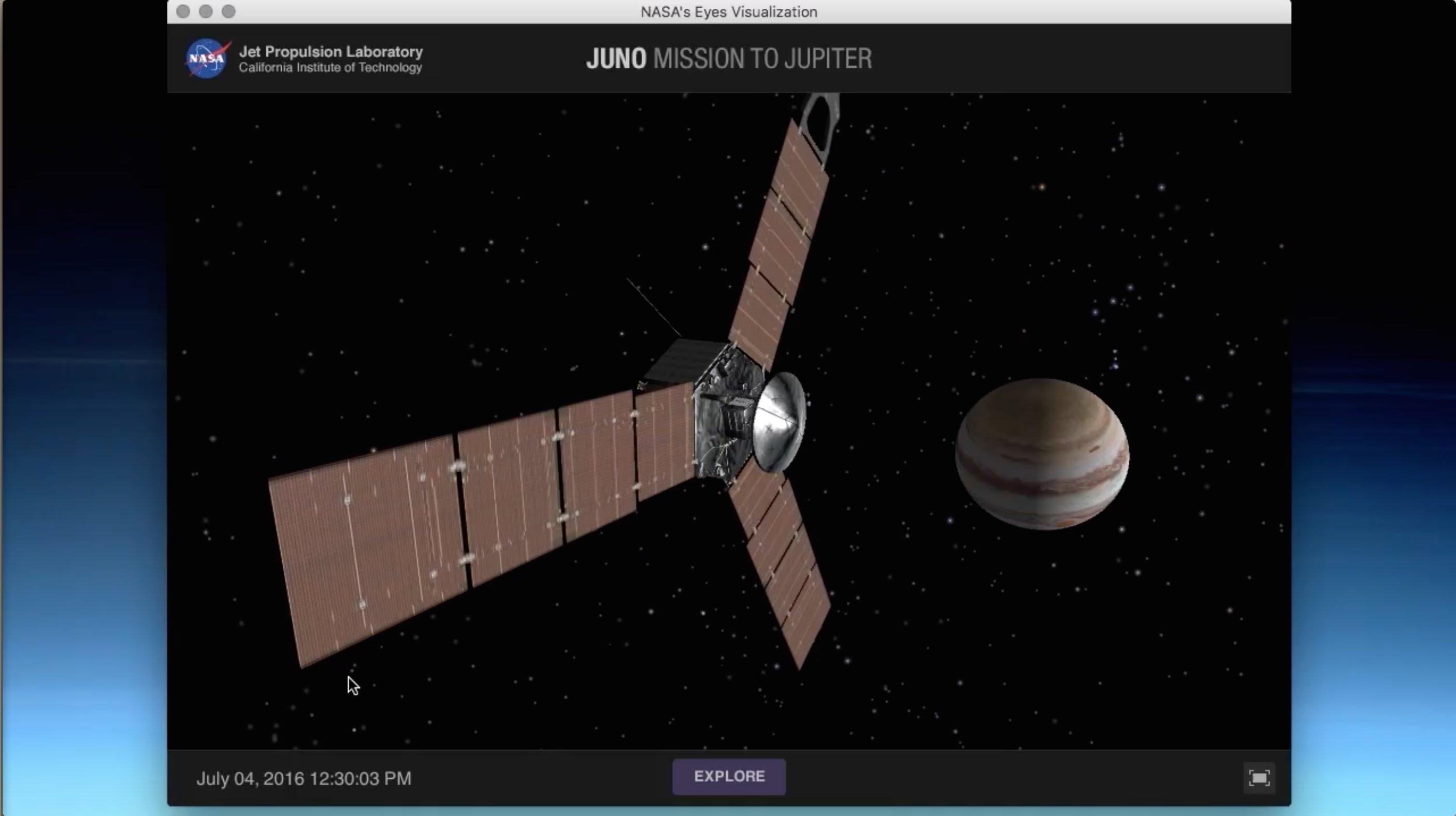 VIDEO: Istraživačka letjelica Juno približila se planetu Jupiter