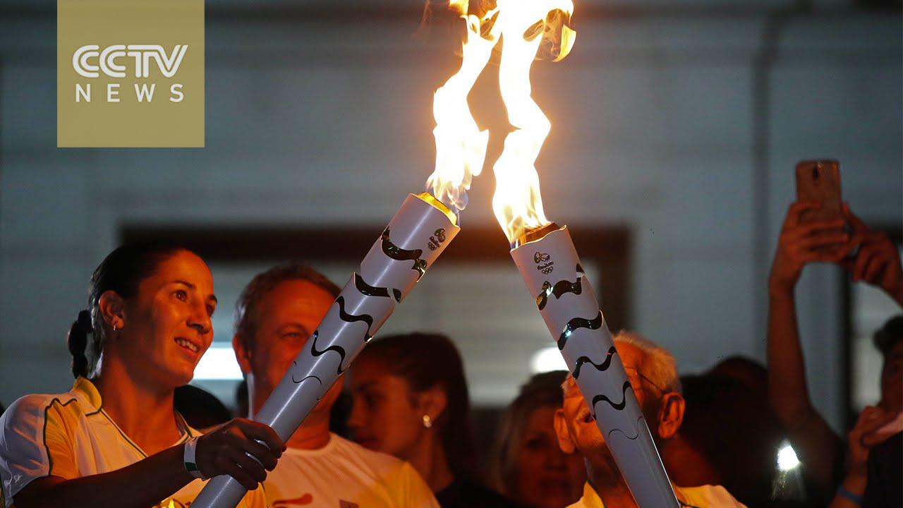 VIDEO: Olimpijski plamen stigao u brazilsku državu Rio