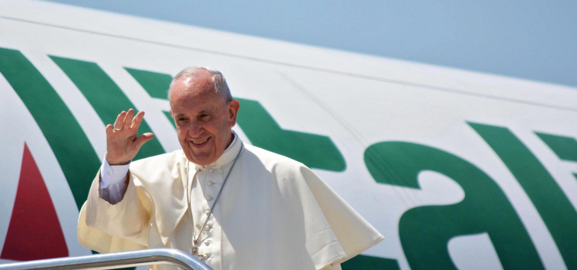 Papu u Poljskoj dočekuje manje vjernika od očekivanog